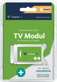 freenet TV CI+ Modul 6 Monate + maxdome