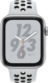 Watch Nike+ Series 4 GPS + Cellular, 44mm Alu pure plat.Armb