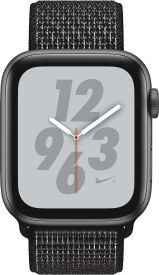 Watch Nike+ Series 4 GPS + Cellular, 44mm Alu schwarzes Arm