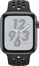 Watch Nike+ Series 4 GPS, 44mm Alu anthrazit-schwarzes Armba