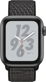 Watch Nike+ Series 4 GPS, 40mm Alu schwarzes Armband