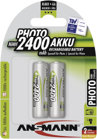 Mignon Accu Photo 2.400 mAh 2er Blister