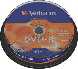 DVD-R 4,7GB 16X 10er SP