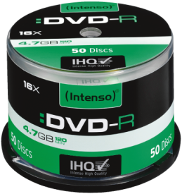 DVD-R 4,7 GB 50er Spindel 16x