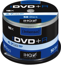 DVD+R 4,7 GB 50er Spindel 16x