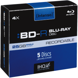 BD-R 25GB 4X 5er JC