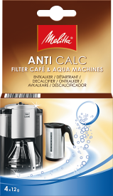 AntiCalc Filter Cafe & Aqua Machines 4x12g