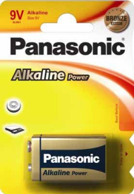 6LR61APB/1BP/6LF22APB/1BP Alkaline Power