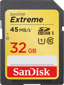 Extreme SDHC 32GB 45MB/s UHS-I