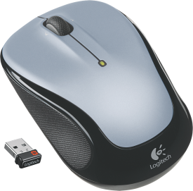 M325 Wireless Mouse Light Silver