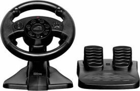 SL-4484-BK DARKFIRE Racing Wheel for PS3 & PC