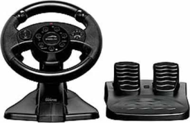 SL-6684-BK DARKFIRE Racing Wheel for PC & PS3