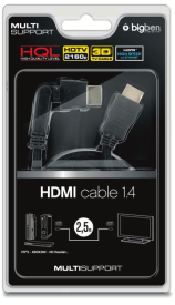 HQ HDMI Kabel 1.4/3D LX