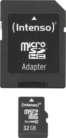 Micro SD Card 32GB Class 10 inkl. SD Adapter
