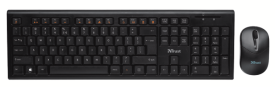 Nola Wireless Keyboard & Mouse DE