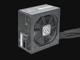 550W 80+ Bronze PSU Certified Wired, Single Rail