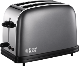 Colours Storm Grey Toaster