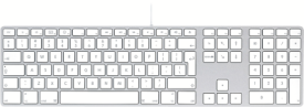 Keyboard mit Ziffernbl. - Englisch International