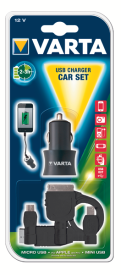 USB Charger Car Set