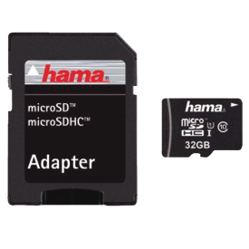 114993 MSDHC32GB C10 45MB/S +A/M