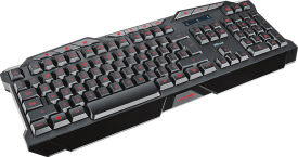 GXT 280 LED Illuminated Gaming Keyboard DE
