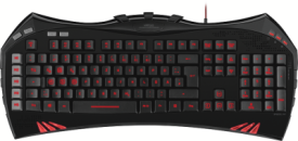 SL-6481-BK VIRTUIS Advanced Gaming Keyboard