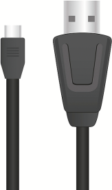 SL-4508-BK STREAM Play & Charge Cable Set - for PS4