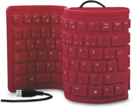 RUGG Flexible Silicone Keyboard