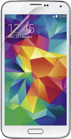 Galaxy S5 Transparent Overlay 3er Pack