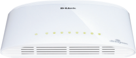 DGS-1008D 8-Port Gigabit Switch