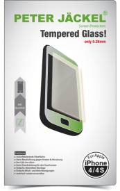 HD Glass Protector für Apple iPhone 4/4S