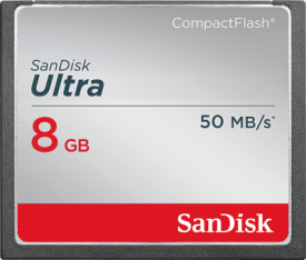 Ultra CompactFlash 8GB