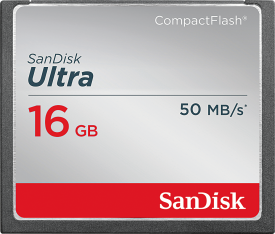Ultra CompactFlash 16GB