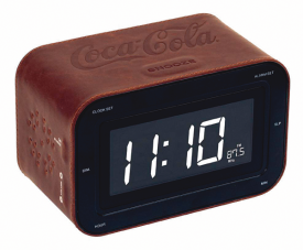 Coca Cola Radiowecker RR30 - Leather