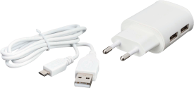 USB Home Charger + Micro-USB cable