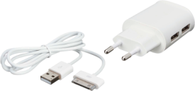USB Home Charger + 30-pin cable iPhone4/4S
