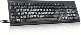 SIGNIUM Keyboard - USB, high-contrast