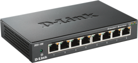DGS-108D/E 8-Port Gigabit Switch