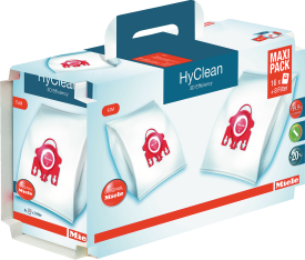HyClean 3D Efficiency, Maxipack F/J/M