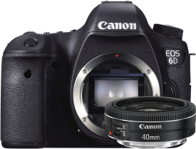 EOS 6D + 40mm 2.8 STM Kit