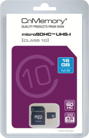 16GB Micro SDHC Class 10 UHS-I,up to 45MB/s