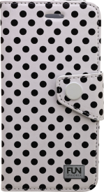 BOOK CASE LITTLE DOTS für Apple iPhone 6