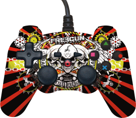 Controller FREEGUN [versch. Motive] PS3