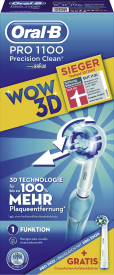 PRO 1100 WOW-Edition+gratis CrossAction Aufsteckbürste
