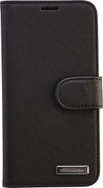 BOOK CASE ELITE Cross Leather für Samsung Galaxy S6