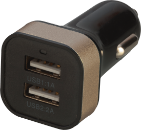 USB Car Charger DUAL DELUXE 3.1A