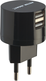 USB Dual Travel Charger DESIGN 2.4A