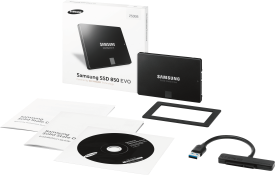 SSD 850 EVO 250 GB Starter Kit
