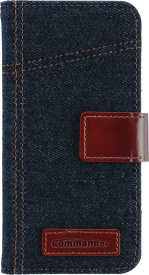 BOOK CASE ELITE Jeans Samsung S6