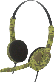 Stereo Gaming-Headset Camouflage PS4